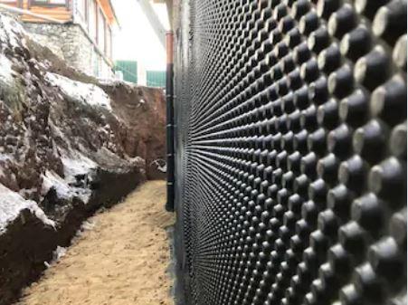 Protection mur étanche