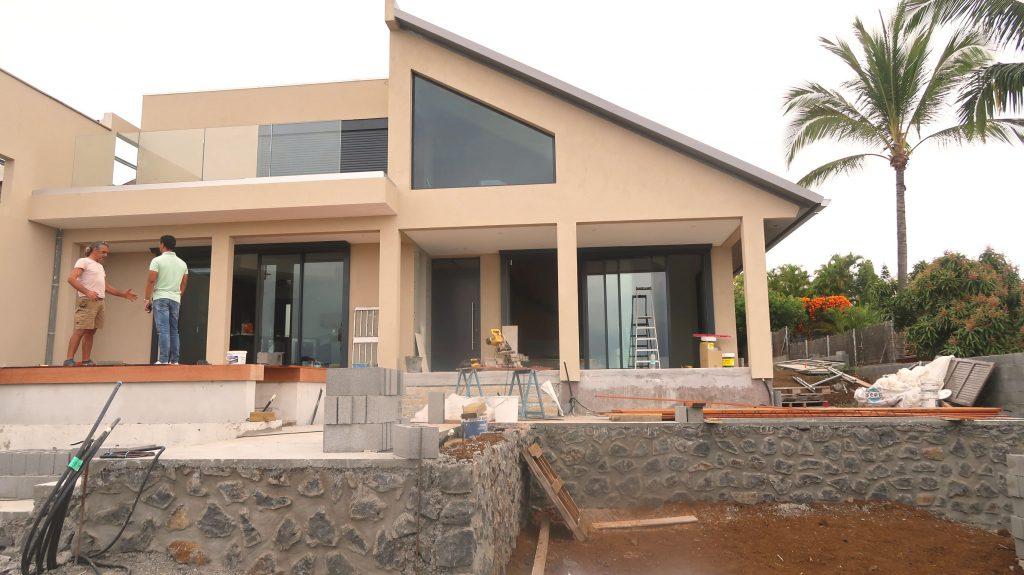 Rénovation maison contemporaine