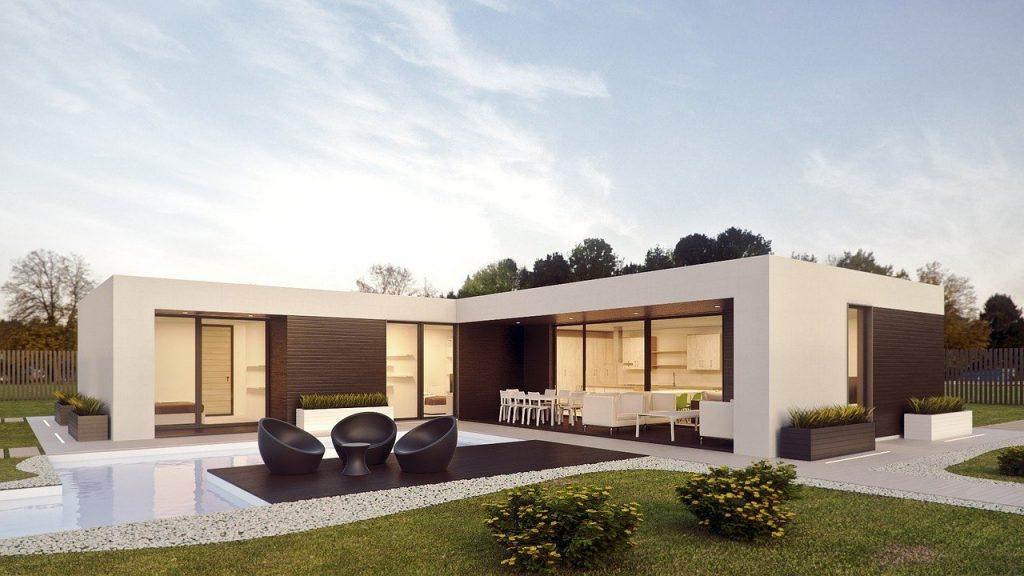 Maison architecturale